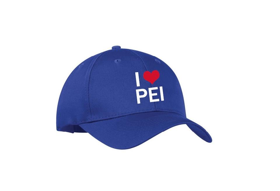 Blue Ball Cap – I LOVE PEI 50df6060a56